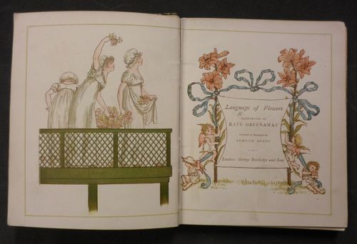 Title page from Language of Flowers