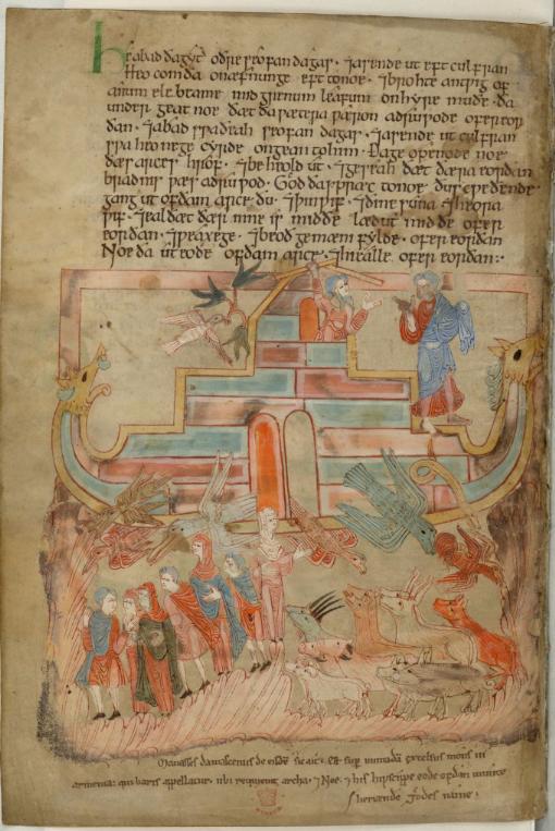 Hexateuch Tiberius B V 15v