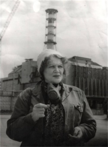 Photograph of Kostenko Lina in Chornobyl