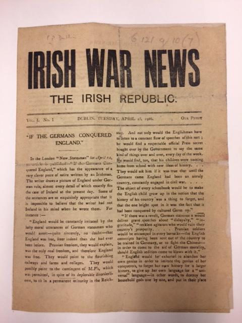 Irish War News