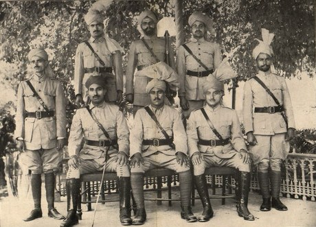 Khaksars in uniform, 1930s