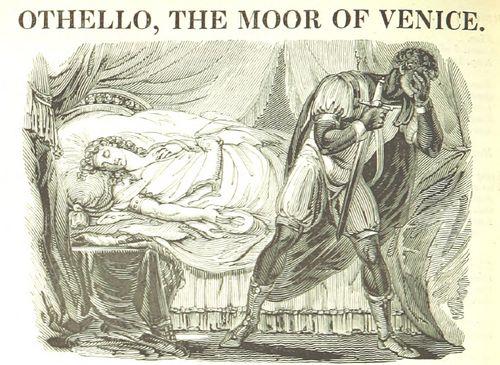 Othello with Desdemona's body