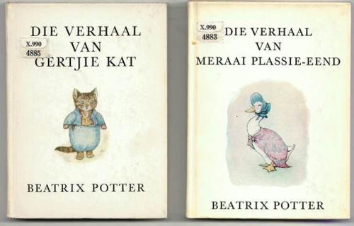 Beatrix Potter Afrikaans