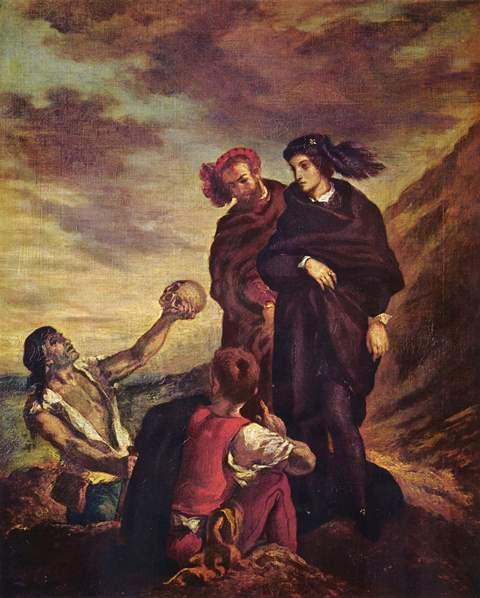 Delacroix 2 Hamlet and Horatio