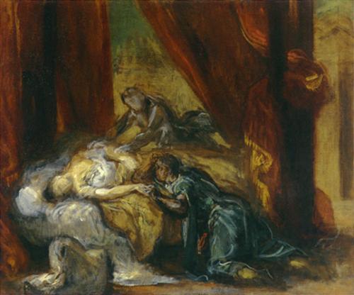 Delacroix 2 Death of Desdemona