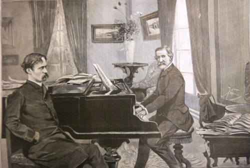 CM FIG.6 Verdi and Boito at S.Agata