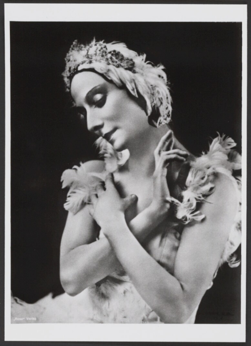 Anna Pavlova The Dying Swan_Library of Congress