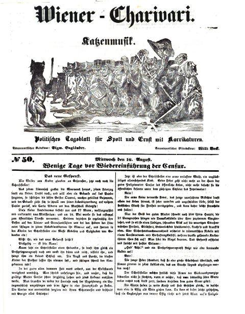 Wiener Charivari 16 August
