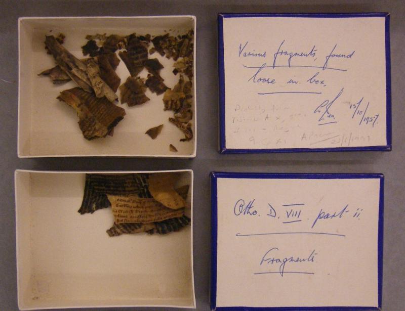 Cotton MS Fragments XXXII