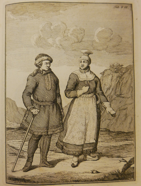 Sami couple in traditional dress.