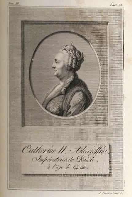 Catherine II aged 64 151.c.11