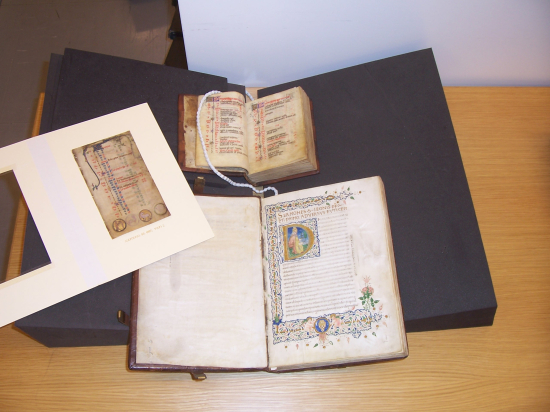 Three manuscripts purchased from Thomas by the British Library