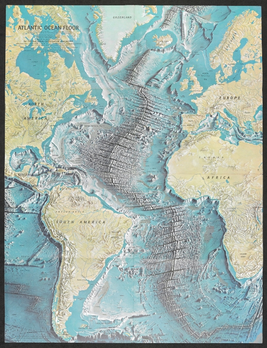 Maps And Views Blog November - What technology allows us to map ocean floor features