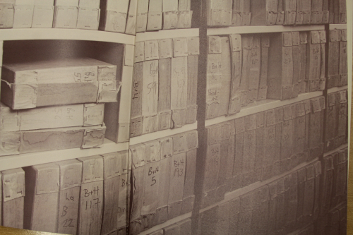 Previous storage of the Boosey and Hawkes archive