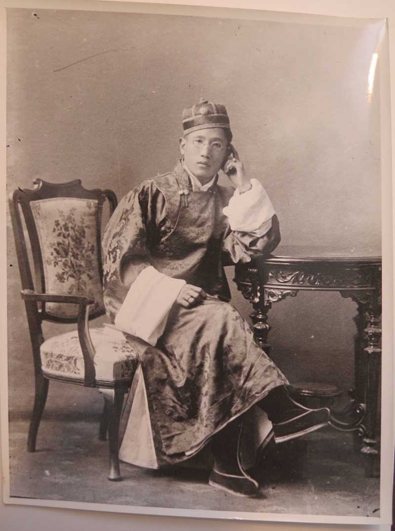 Photograph of the young prince.