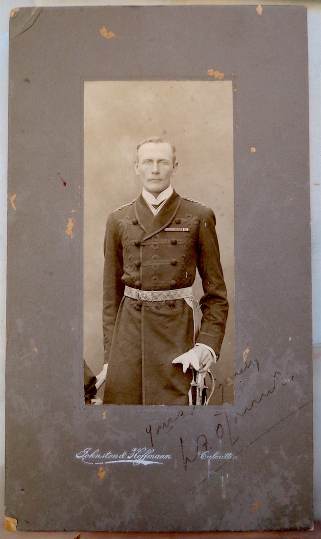 Photograph of Lt. O'Connor