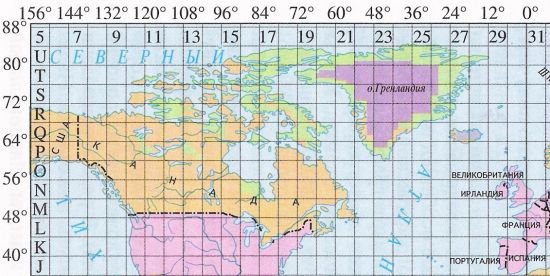 Soviet Military Mapping Of The Cold War Era Maps And Views Blog - World map with latitudes