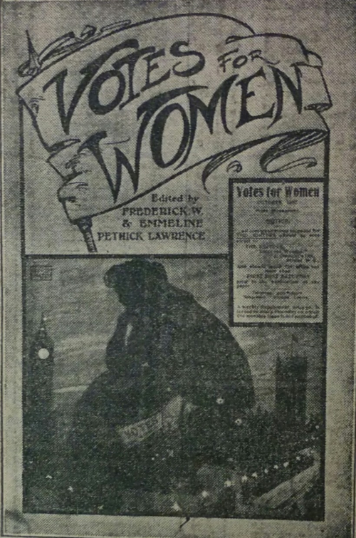 Votes for Women first cover
