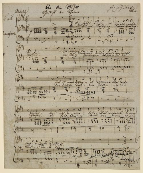 Schubert  An die Musik