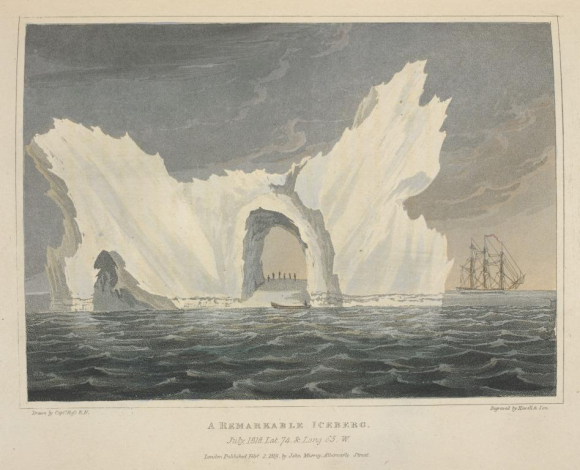 A Remarkable Iceberg (Ross July 1818)
