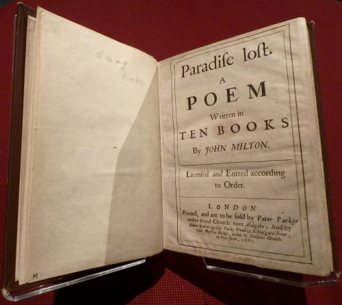 Paradise lost first edition