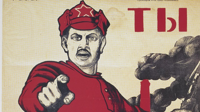 Red Army poster c British Library