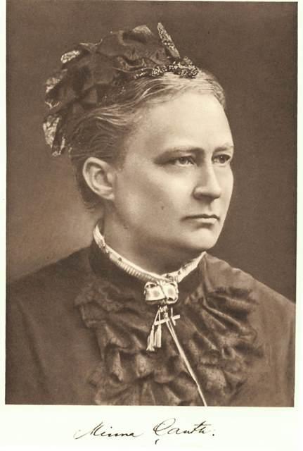 Minna Canth portrait