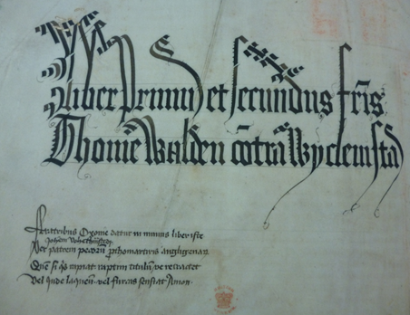 British  Library  Royal MS 8 G X  f. 1v