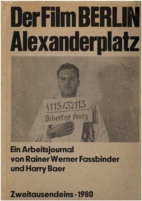 Berlin Alexanderplatz Arbeitsjournal