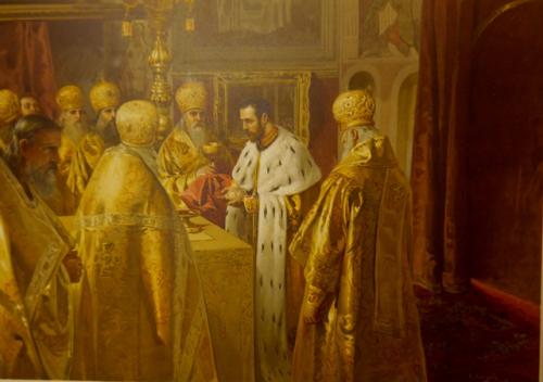 Coronation Album altar
