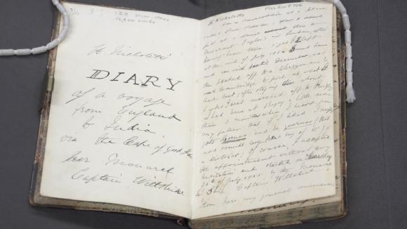 Henry Nicholett's diary