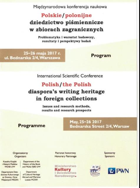 Conference Warsaw