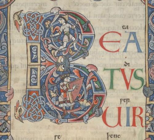 Arundel MS 60 f.13r 11th-12thc