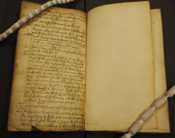 Last page of the manuscript, which ends in mid-sentence