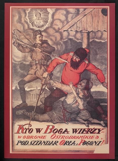 Polish-Soviet War poster LF.37.b.277