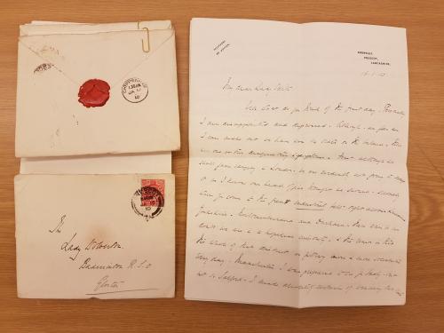 Letter 16 January