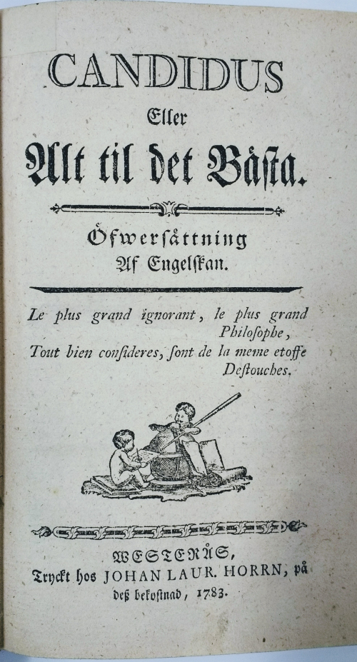 Candidus title page
