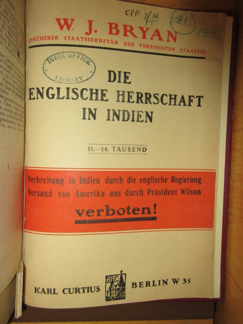 German translation title page