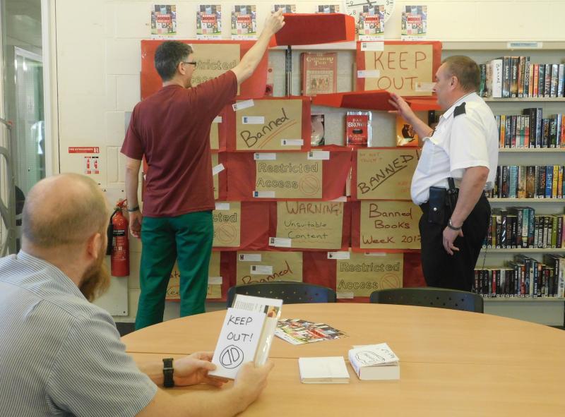 Banned Books Week at HMP Garth