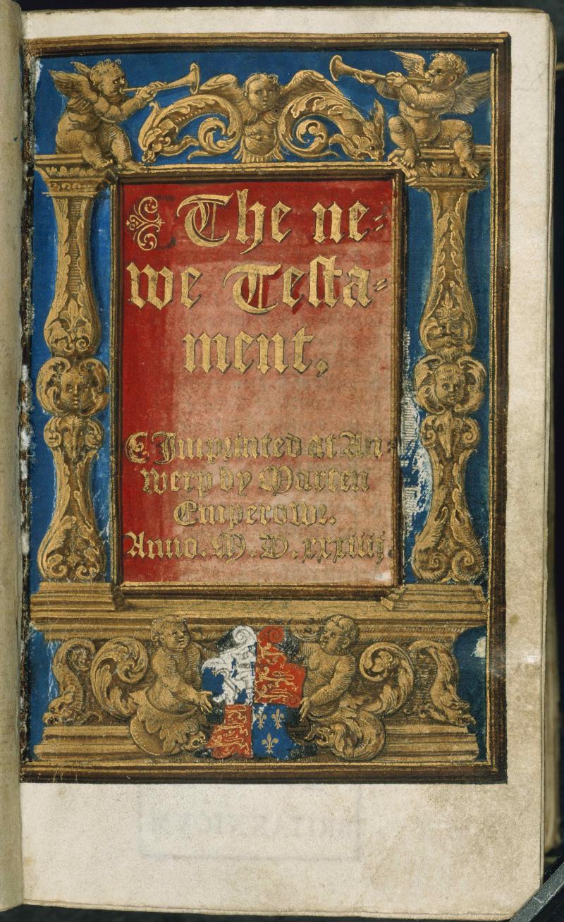 Tyndale titlepage