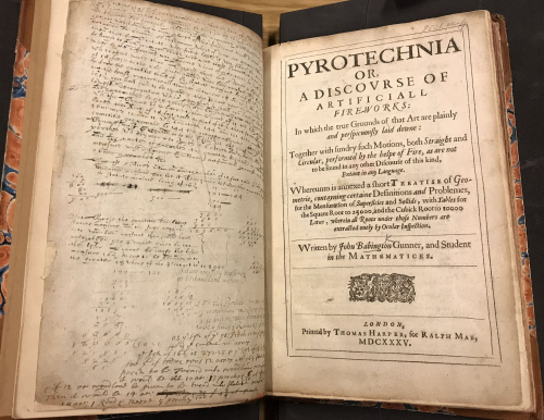 Pyrotechnia title page