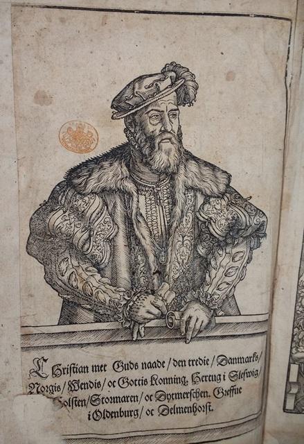 Danish Bible Christian III portrait