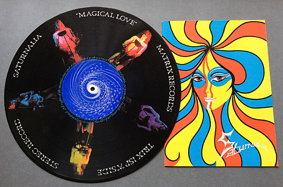 Magical Love - disc and booklet