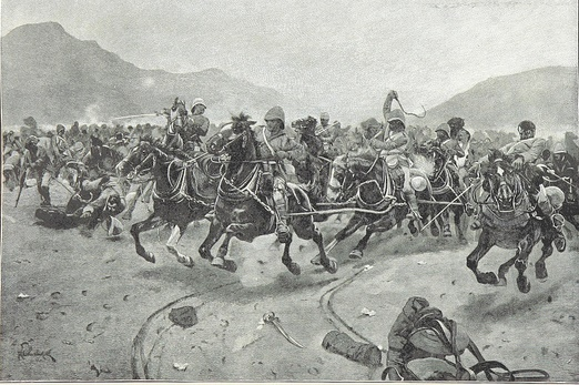 Cavalry charge at Battle of Maiwand