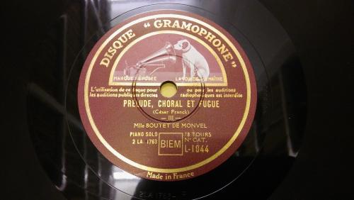 Disc label