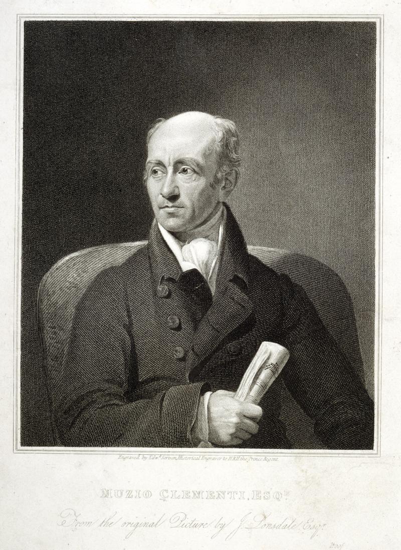 Muzio Clementi g.323  frontispiece