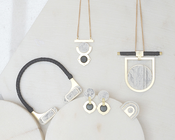 Inspired by our architecture  a bespoke jewellery range by Victoria Myatt