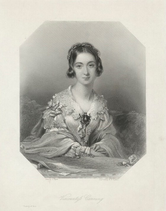 Portrait of Charlotte Canning