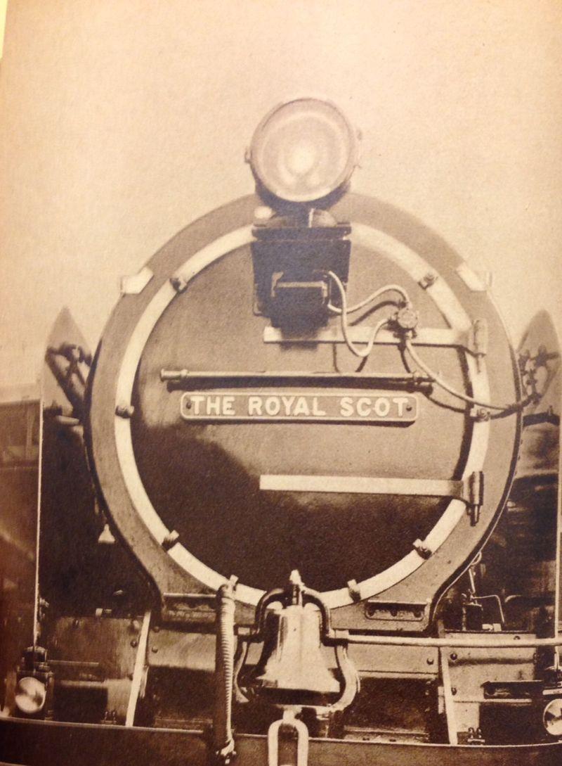Royal scot engine