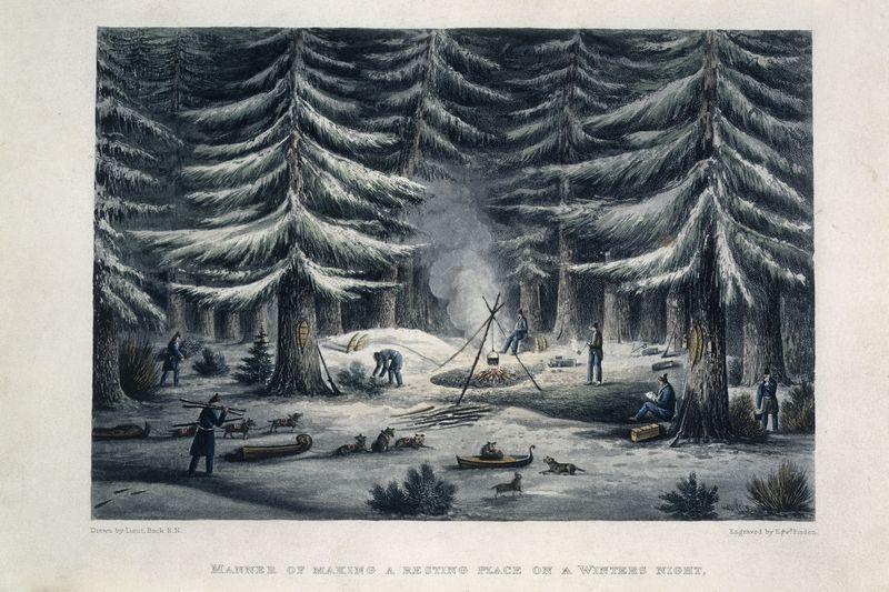Franklin overland camp